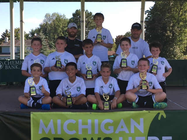 06 Green Boys win Saginaw Classic